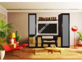 """Мебель для гостиной со шкафом и тумбой под тв """"Комфорт Люкс-8"""""""