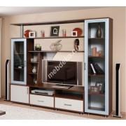 """Набор мебели для гостиной комнаты со стеклом и нишей под телевизор """"Мирабелла"""""""