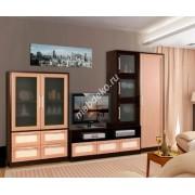 """Мебель для гостиной с тумбой под тв и шкафом """"Олимпия-3"""""""
