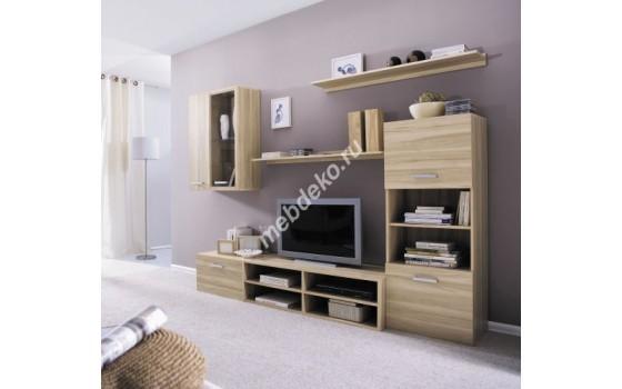 """Комплект мебели в гостиную из лдсп с тумбой """"Ориана"""""""