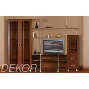"""Комплект мебели в гостиную комнату с двустворчатым шкафом и тумбой """"Санремо-12"""""""