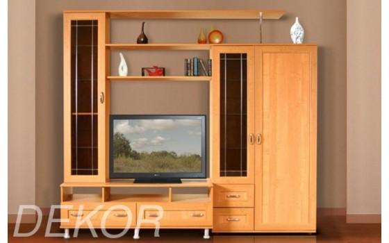 """Комплект мебели в гостиную комнату с нишей для телевизора """"Санремо-13"""""""
