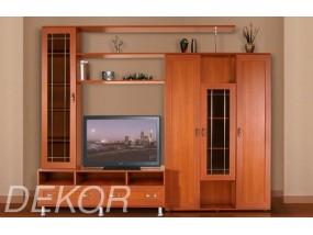 """Комплект мебели в гостиную комнату со стеклом и нишей для телевизора """"Санремо-14"""""""