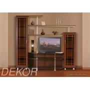 """Комплект мебели для гостиной комнаты с 2 шкафами и секцией для телевизора """"Санремо-3"""""""
