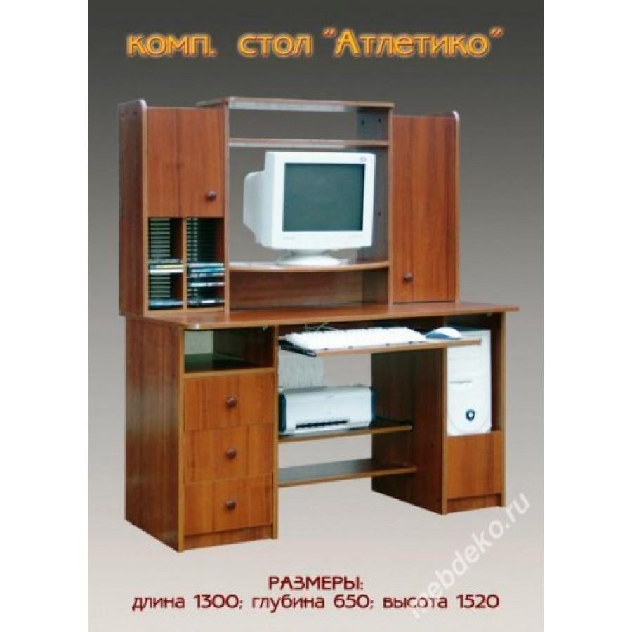 Компьютерный стол атлетико.
