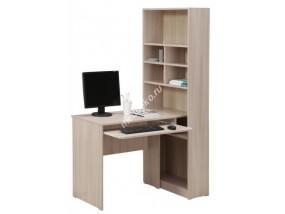 """Компьютерный стол """"Гимназист-6"""" с боковым элементом с полками"""