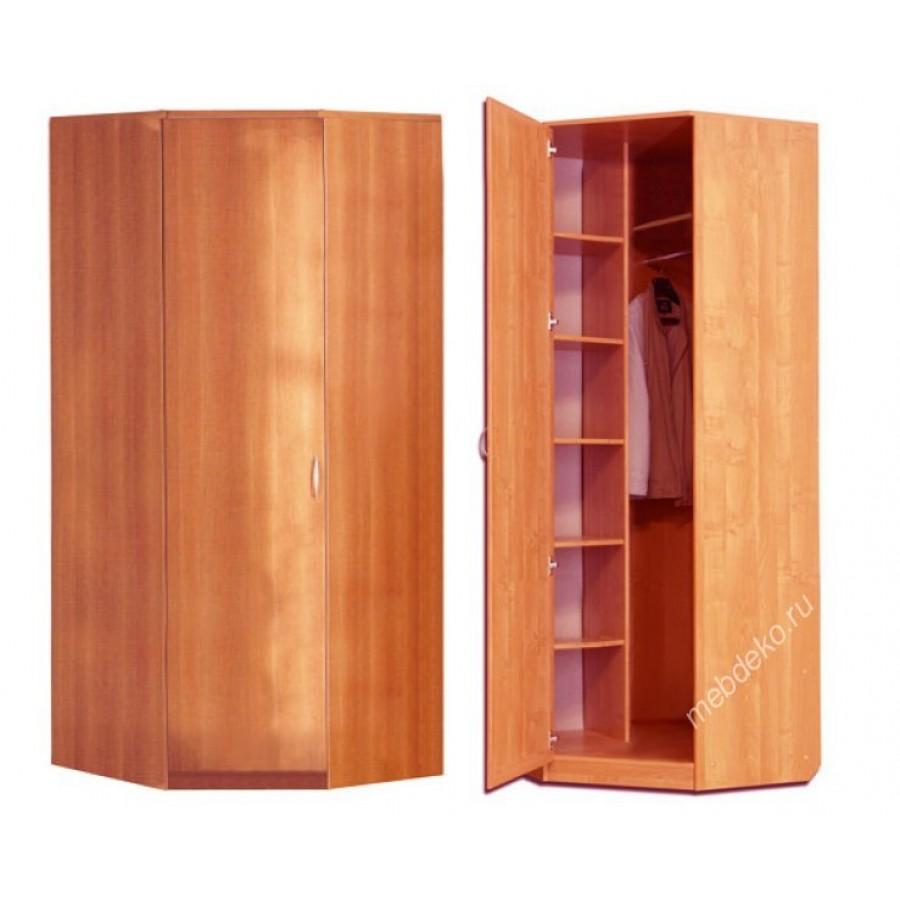 Шкафы распашные - угловые шкафы - шкаф угловой однодверный о.