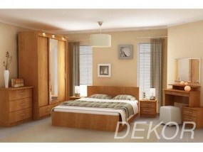 """Мебель для спальни """"Юнона-2"""" со шкафом-купе 3-ств"""