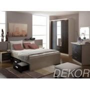 """Набор мебели в спальню """"Юнона-5"""" (двухспальная кровать 1600х2000 с выдвижными ящиками)"""
